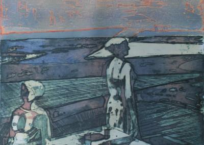 Roland Petersen Figures Facing East & West