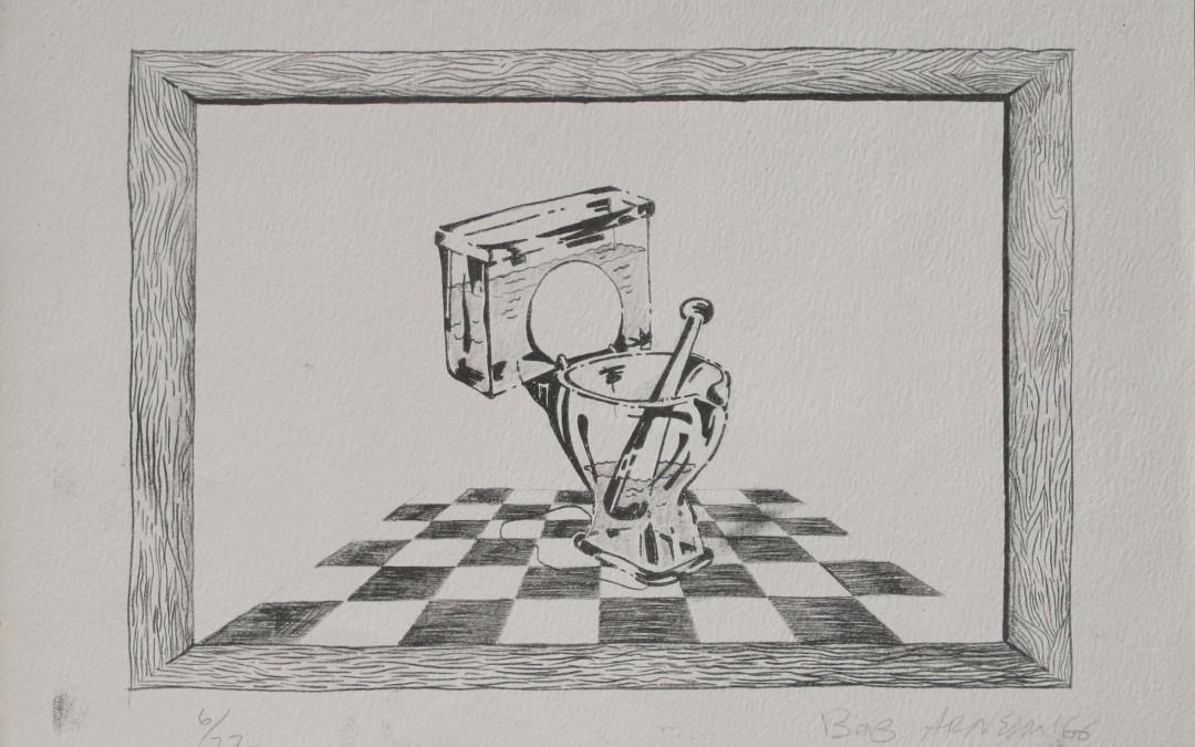 Robert Arneson Mortar & Pestle Toilet