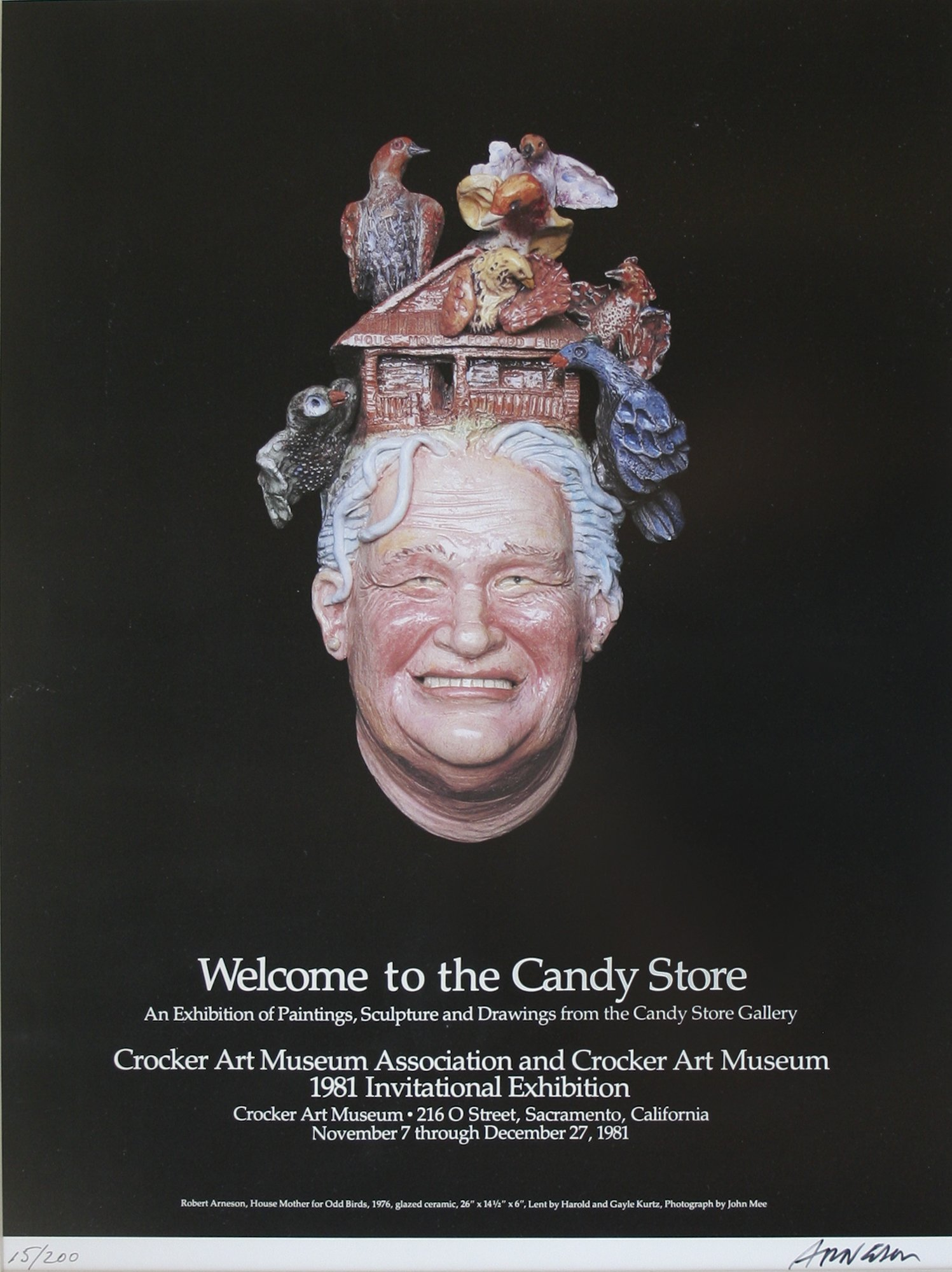 Robert Arneson Welcome To The Candy Store