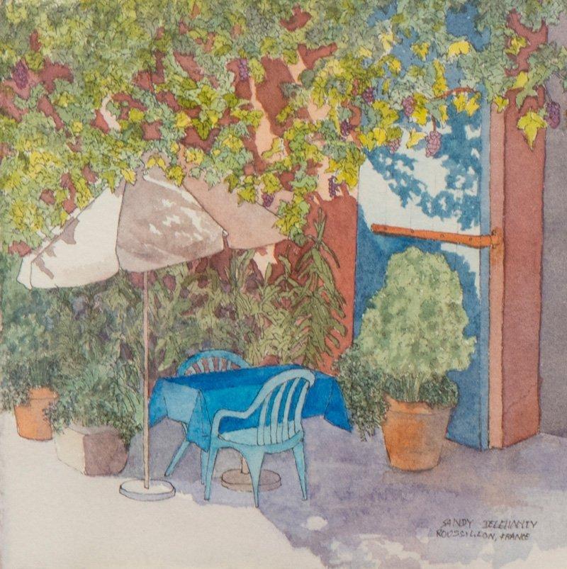 Sandy Delehanty, Café A Roussillion
