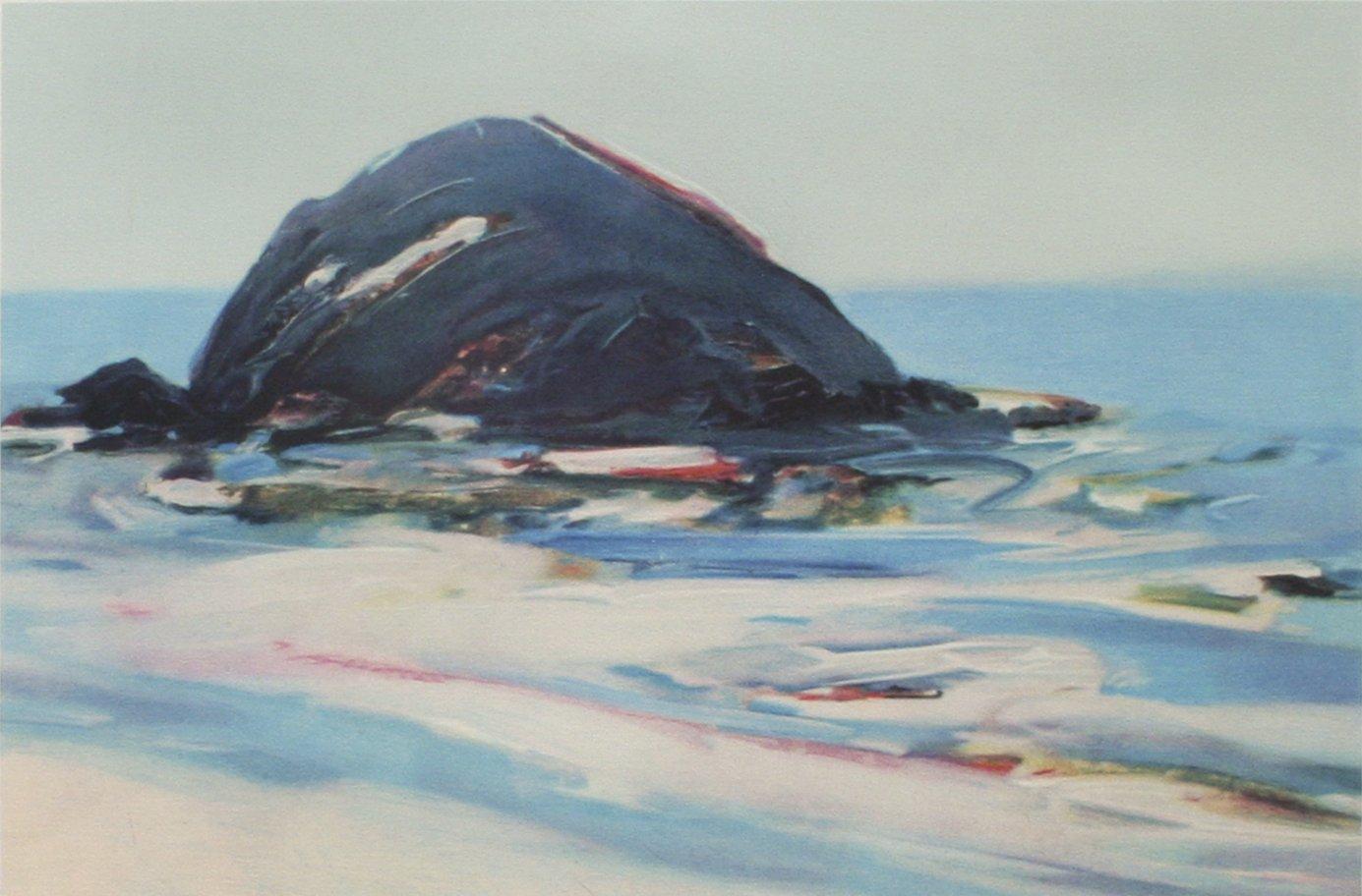 Gregory Kondos Sea Rock 1987