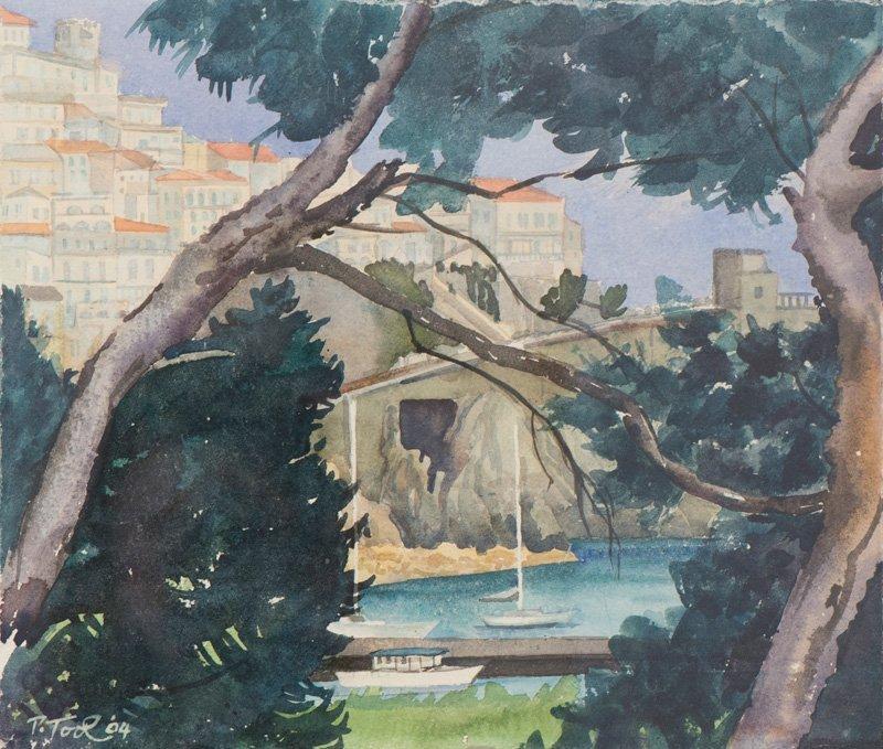 Patricia Tool McHugh, View Of Amalfi, 2004