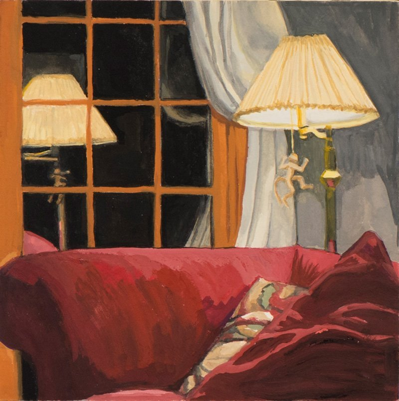 Peggie Molloy, Red Sofa