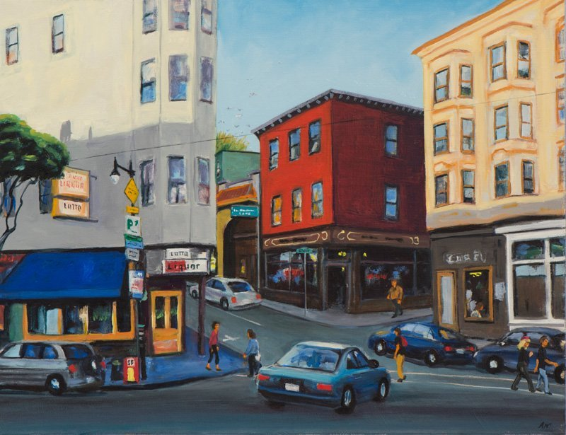 Anthony Montanino, North Beach Corner, 2006