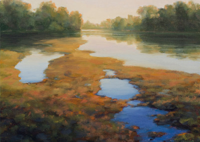 Terry Pappas, American River Sand Bar #2