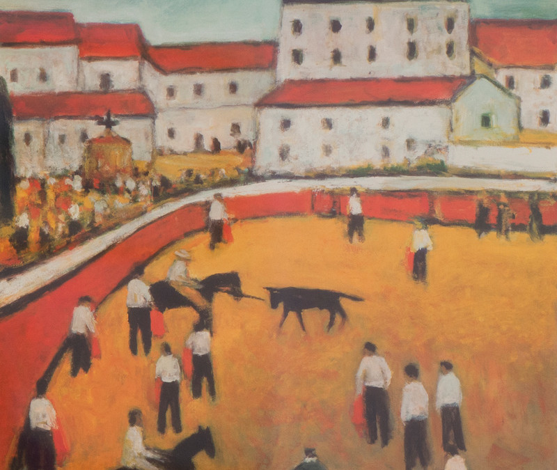 Alan Post Village Bull Fight II, 2005