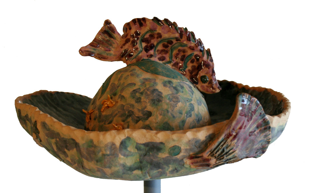 Sandra Shannonhouse Untitled Fish Hat