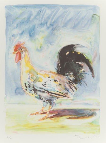 Wayne Thiebaud, Rooster, 1994