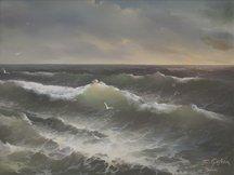 Eugene Garin, Untitled Seascape
