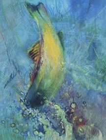Gary Pruner, Untitled Fish c. 1985