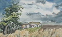 Bernice Huber, Untitled Farm House