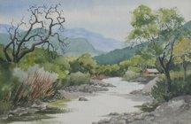 Bernice Huber, Untitled Landscape I