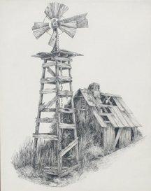 P. Michielssen, Ranch Windmill