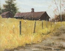 Soegaard, Farm House In Autumn