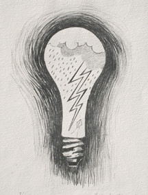 Robert Arneson, Untitled Light Bulb, 1966