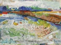 Roland Petersen, Landscape, 1959