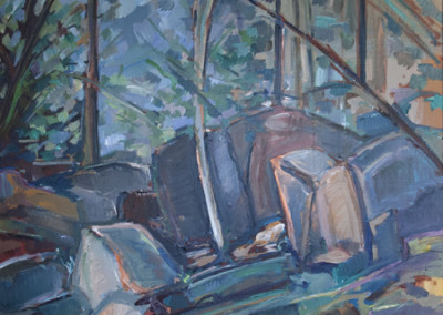 Matt Bult, Forest Rocks #1, 2008