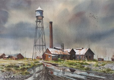 Ralph Ledesma, Water Tower