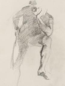 Jian Wang – Figure Drawing #4, 1993