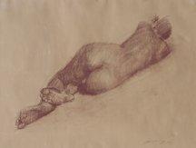 Jian Wang, Untitled Reclining Figure, 1992