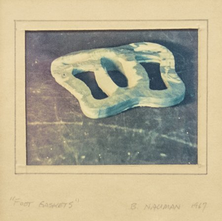 Bruce Nauman, Foot Gaskets, 1967