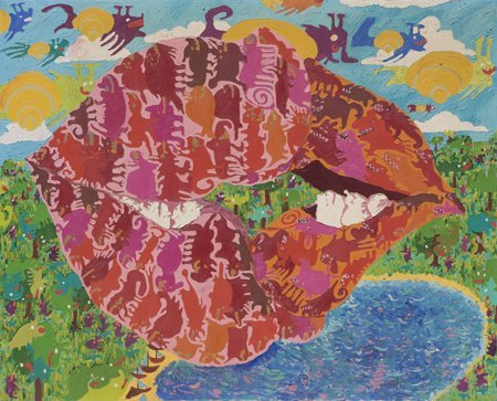 Maija Peeples, Untitled Lips, c. 1967