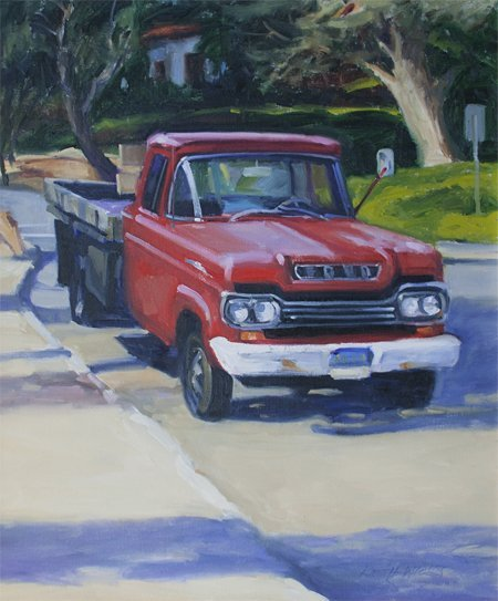 Keith Wicks, The Old Red Truck, 2002