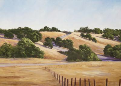 Susan Hoehn, Untitled Foothills & Oaks II