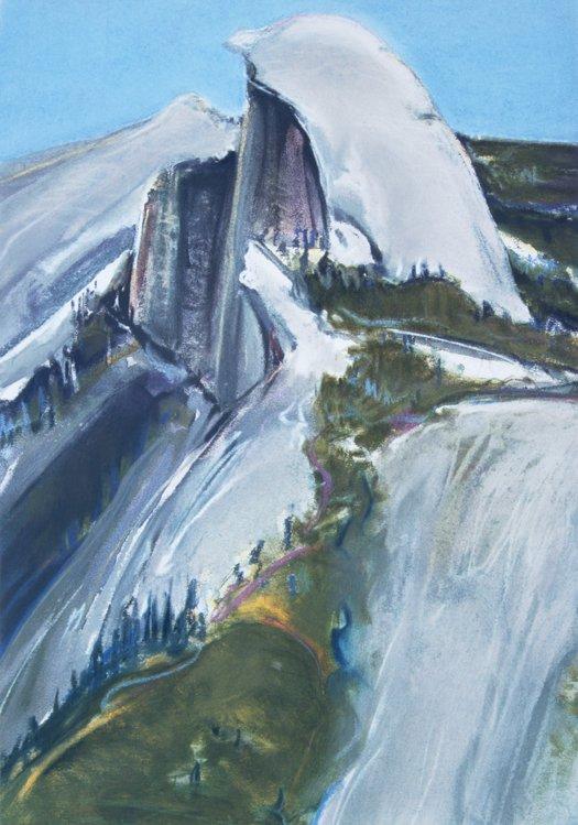 Gregory Kondos, Half Dome 66/100, 1990