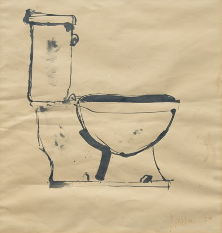 Robert Arneson, Unknown (Toilet), 1969