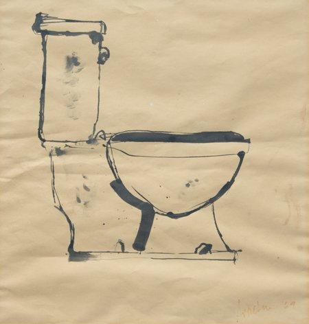 Robert Arneson, Unknown (Toilet), 1969