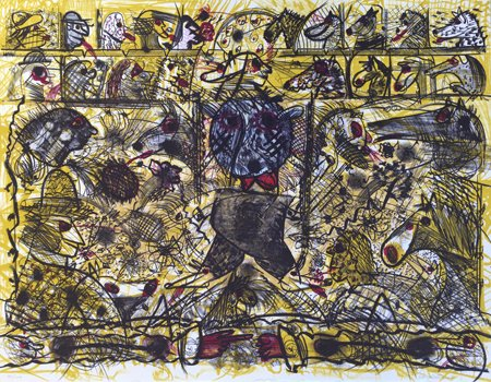 Roy DeForest, Untitled – Walking, 1987