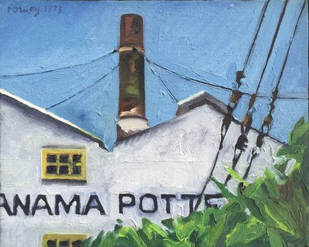 Darrell Forney, Panama Pottery, 1973