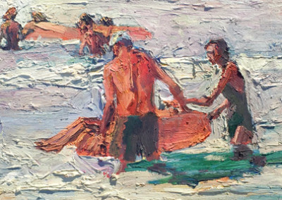 Jian Wang, Summer Memory #9, 1998