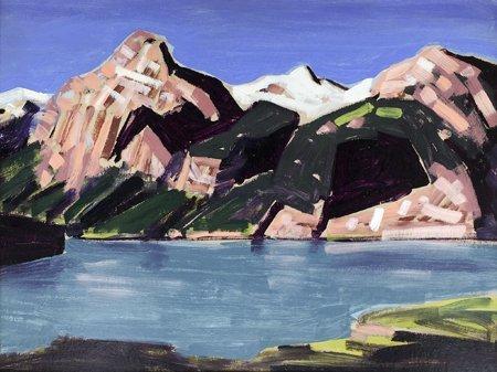 Conrad Buff, Sierra Lake