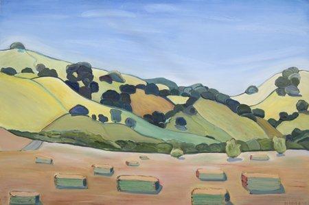 Paula Lloyd, Vacaville Hay Bales, 2004