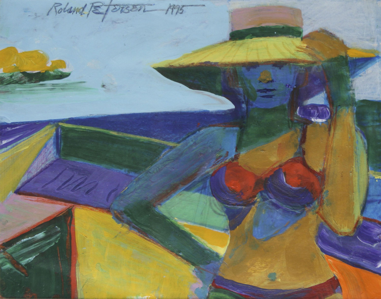 Roland Petersen, Bather Series 1, 1995
