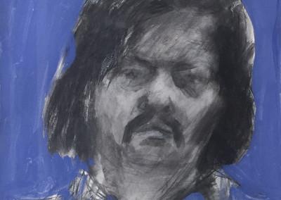 Fred Dalkey, Self-Portrait, 1972