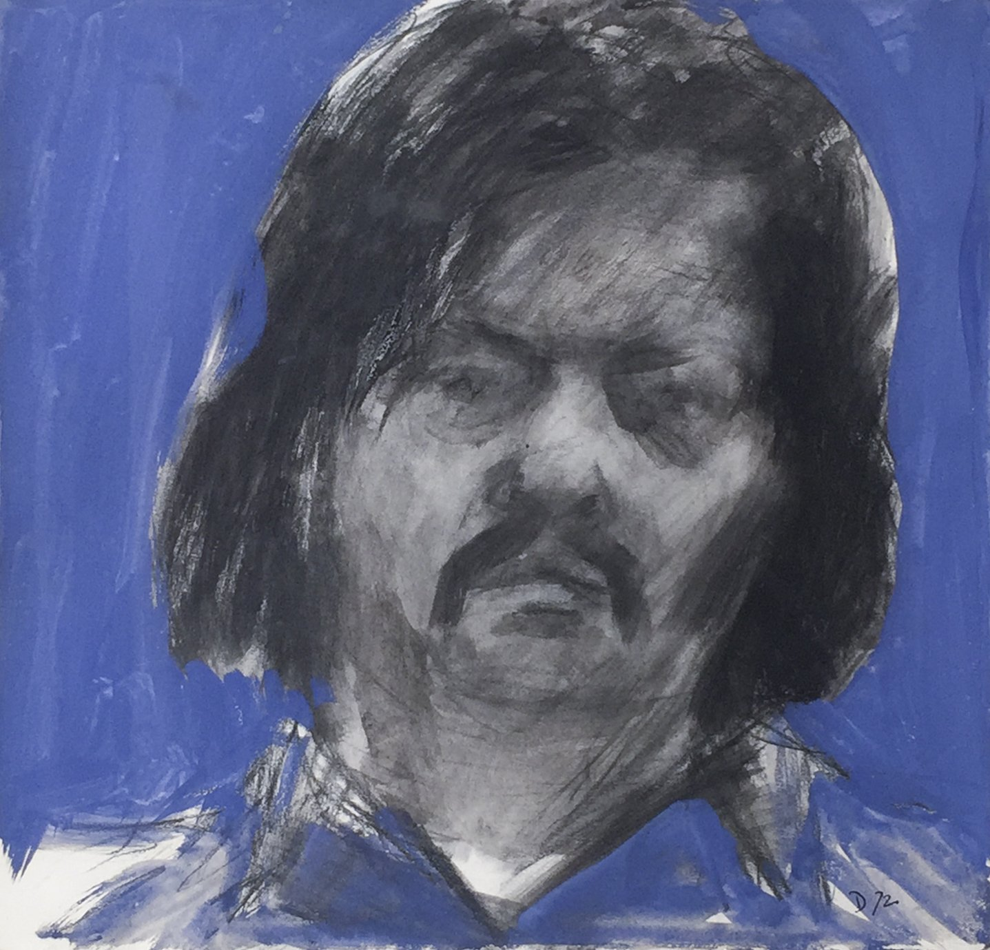 Fred Dalkey, Self-Portrait, 1972
