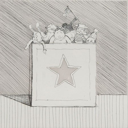 Wayne Thiebaud – Toy Box, 2002 34/40