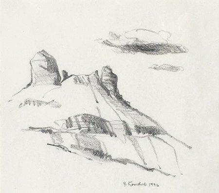 Gregory Kondos – Sedona IV, 1996