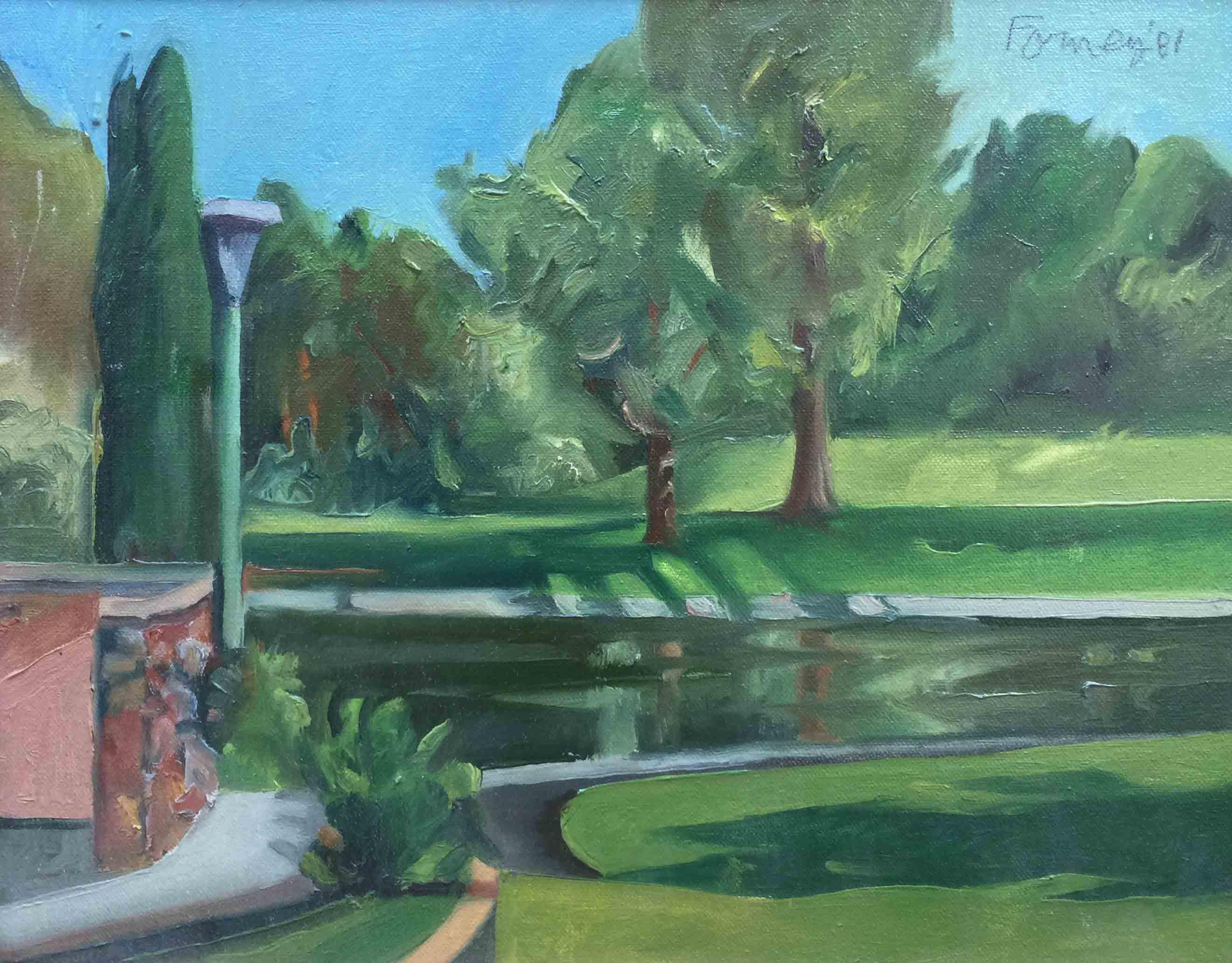 Darrell Forney – Land Park Pond