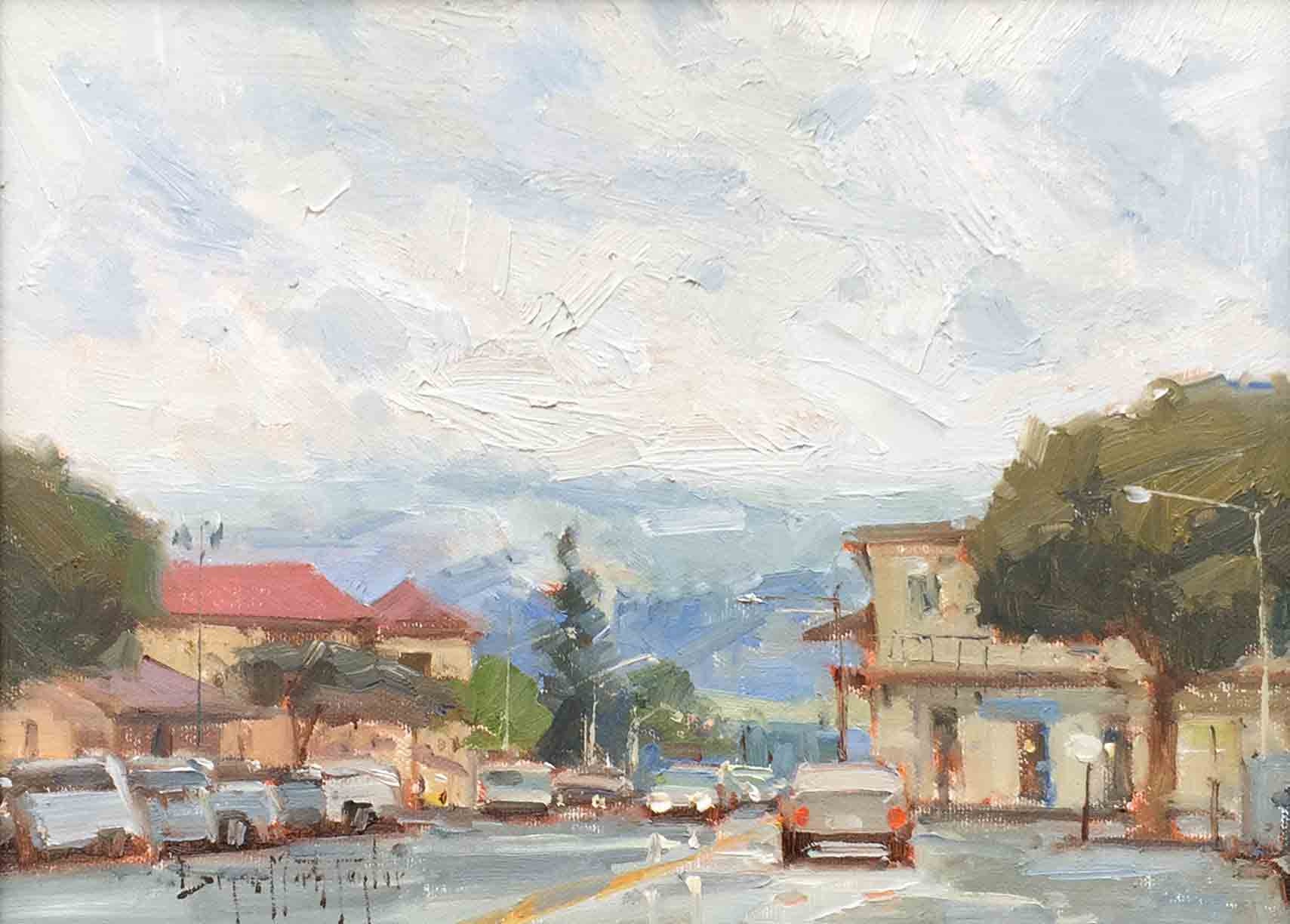 Bryan Mark Taylor, Sonoma In The Rain, 2010