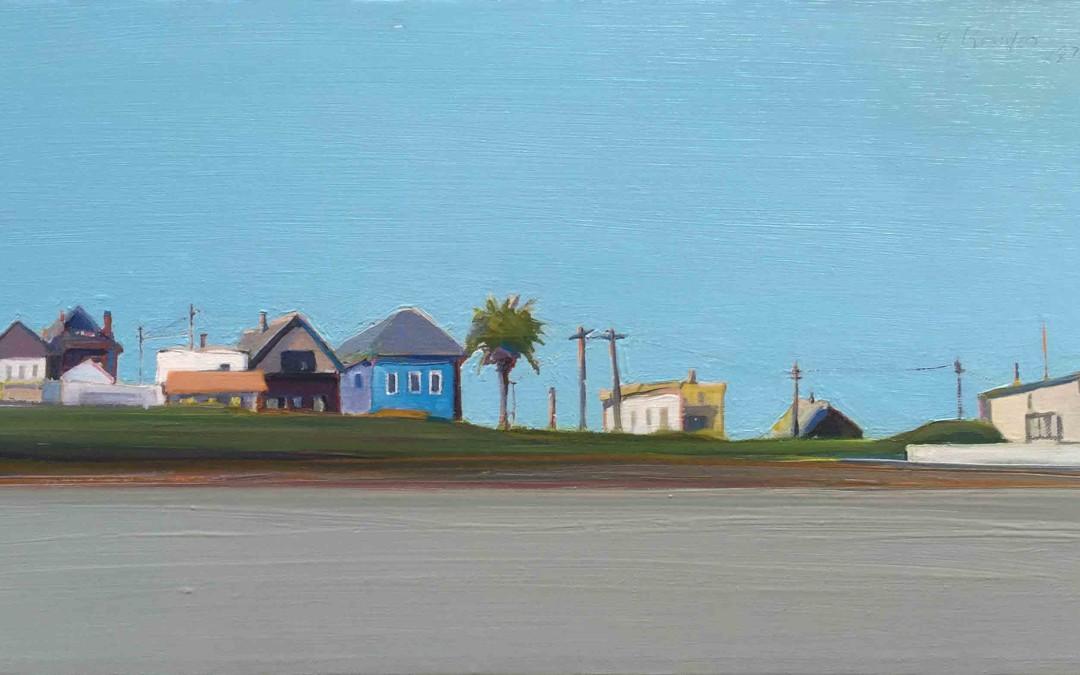 Gregory Kondos, Petrero Hill (artist's spelling)