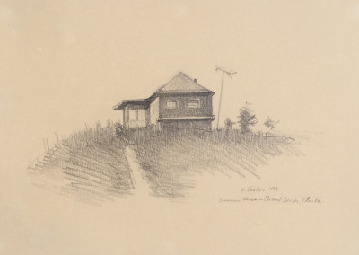 Gregory Kondos, Summer House, Crescent Beach, FL