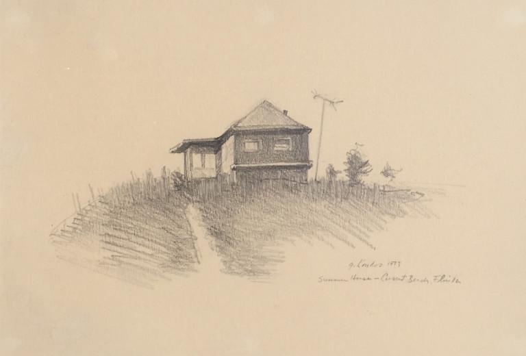 Gregory Kondos, Summer House, Crescent Beach, FL