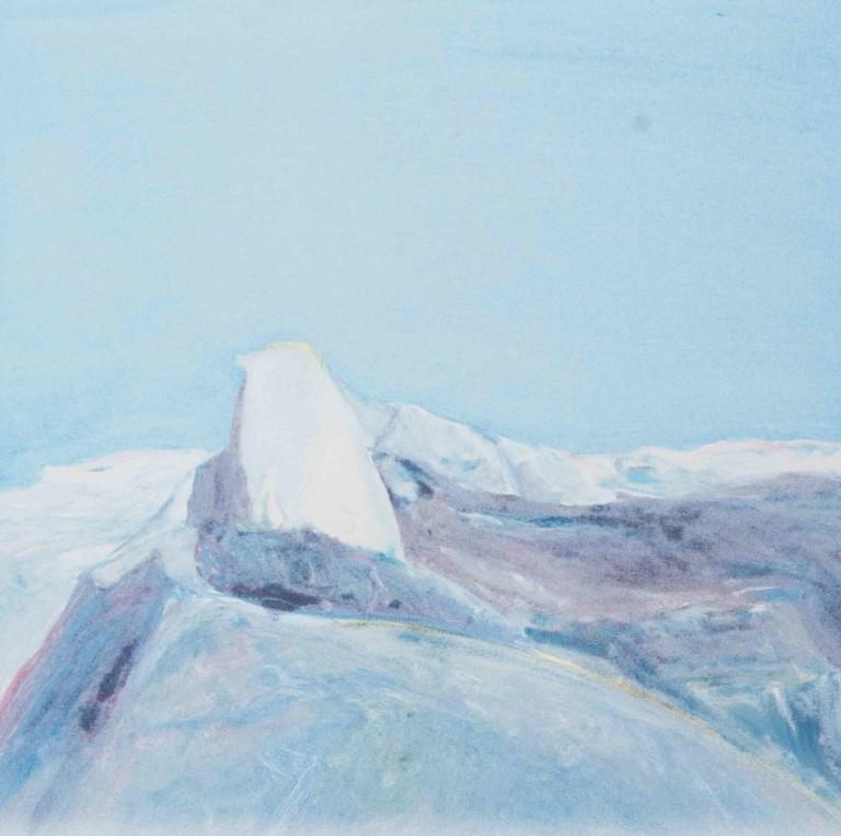Gregory Kondos, Half Dome, Yosemite, 1982