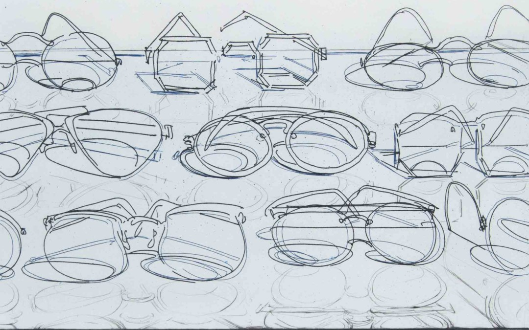 Wayne Thiebaud, Eyeglasses, 1994