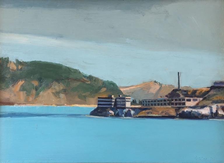 Kim Frohsin, Small West End Alcatraz Island, 1997