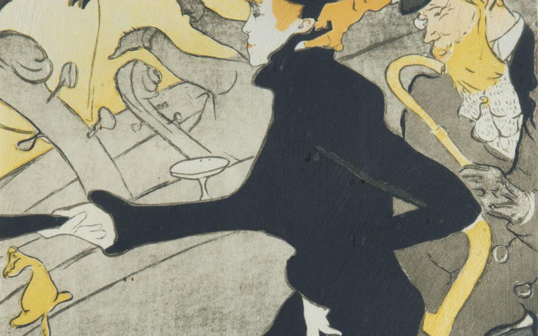 Henri de Toulouse-Lautrec, Figures In Front Of Orchestra